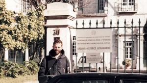 1994, no Arquivo Histórico Ultramarino, em Lisboa