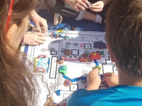 שיתוף בתכנון חצר בית הספר, אפילו בימי הקורונה...