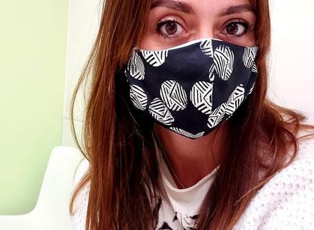 FLX-leerkracht maakt meer dan 700 (!) mondmaskers