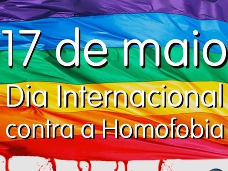 17 de maio: Dia Internacional Contra a Homofobia