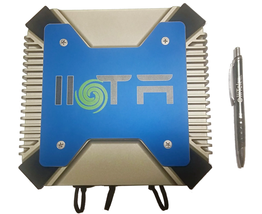 The IIoTA™ is compact, industrial hardened, and a much lower security risk than a PC based solution