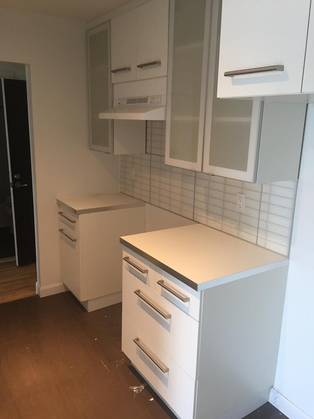 Installation armoire cuisine à Québec 2