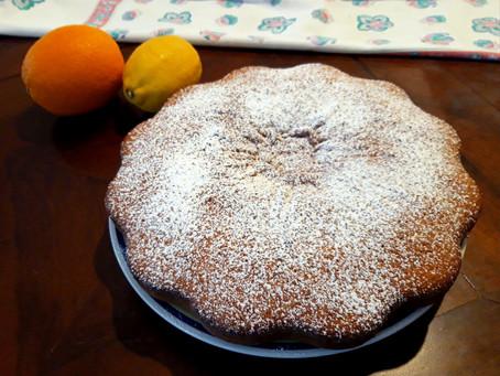 Torta soffice yogurt e agrumi - merende salutari