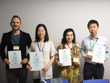 Dr. Zou received the International Cartographic Association Scholarship and attended the 29th ICC
