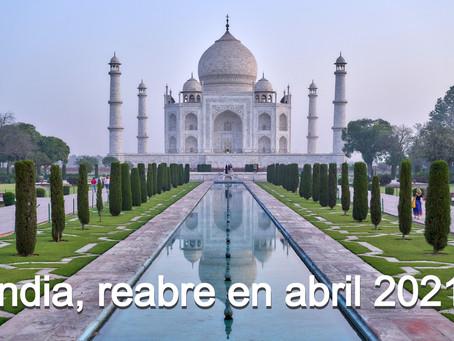 No habrá turismo en India hasta abril 2021