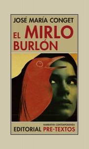 EL MIRLO BURLÓN  de                            JOSÉ MARÍA CONGET