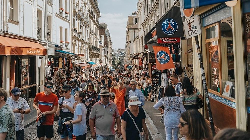 Montmartre et ses touristes