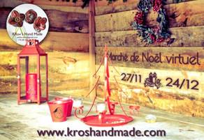 Marché de Noël virtuel KRo+'s Hand Made