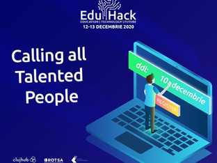 EduHack 2020 - Education. Technology. Future