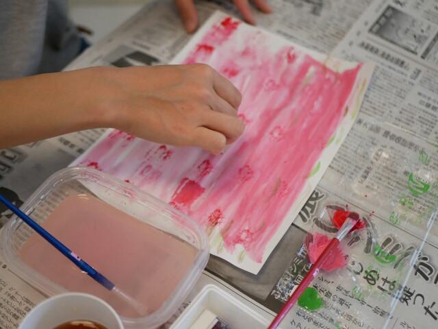 桜イメージの素敵なカラペができあがりました