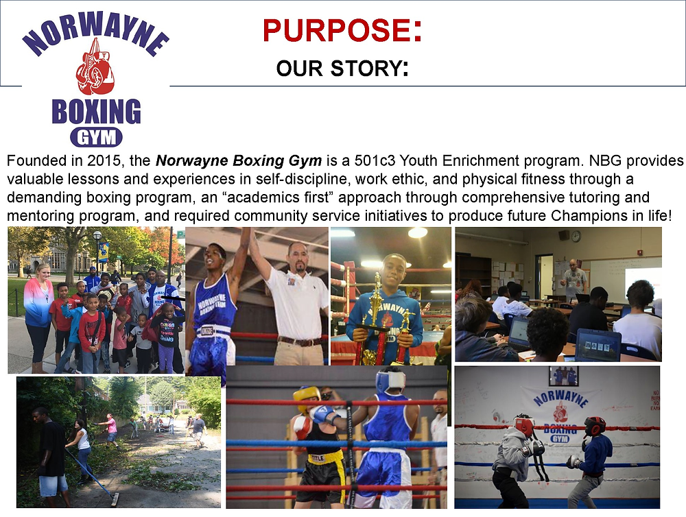 Norwayne Boxing Gym before Heasley & Partners