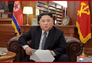 Mensagem de Ano Novo do Dirigente Máximo Kim Jong-Un: Juche 108 (2019)