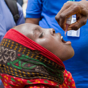 Africa eradicates wild poliovirus.