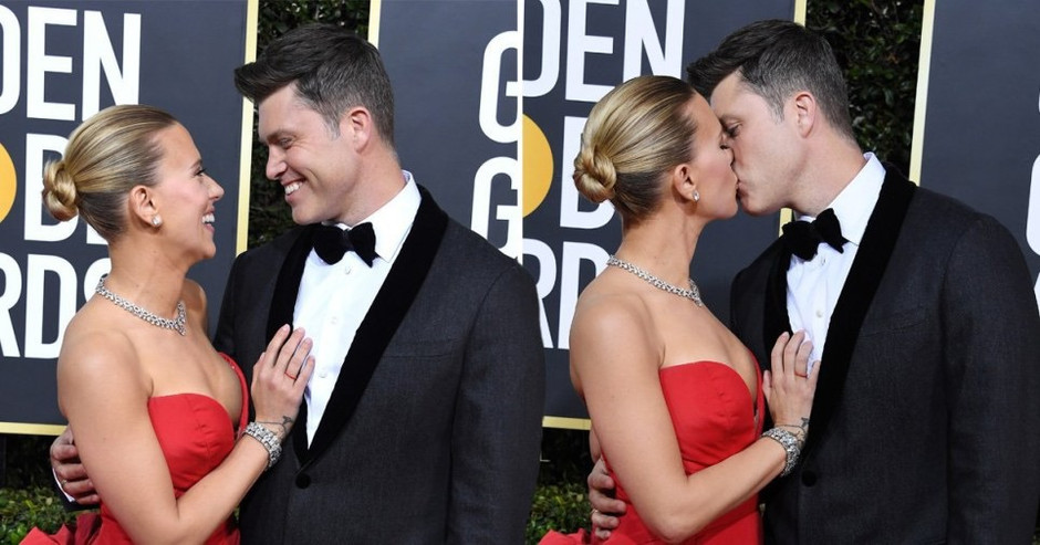 Scarlett Johansson Ties the Knot