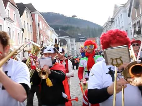 Waidhofen: Stadt der Narren am 23. Feb 2020   -  großer Faschingsumzug