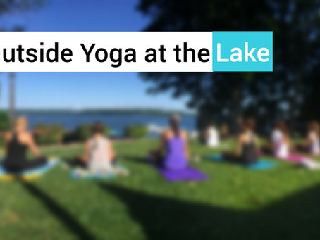 Outdoor Yoga by the Lake