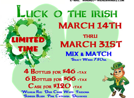 LUCK O' THE IRISH-LIMITED TIME...Mix & Match
