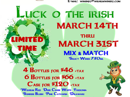 LUCK O' THE IRISH-LIMITED TIME...Mix & Match