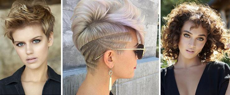 tendances coiffure 2018 femmes cheveux courts et très courts
