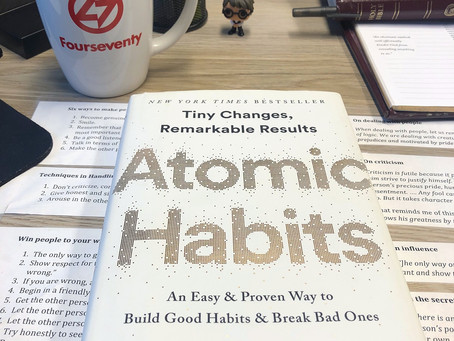 Recommendations: Atomic Habits by James Clear