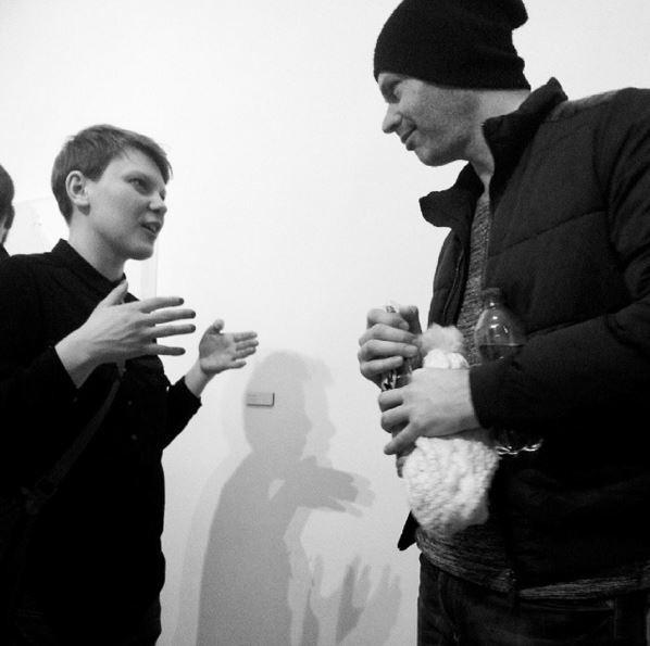 Wegrzyn with Eyal Zucker