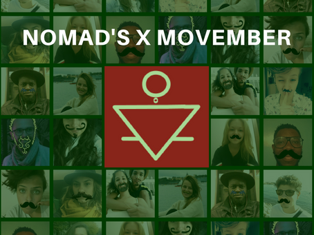 En novembre, Nomad's s'engage pour le Movember !