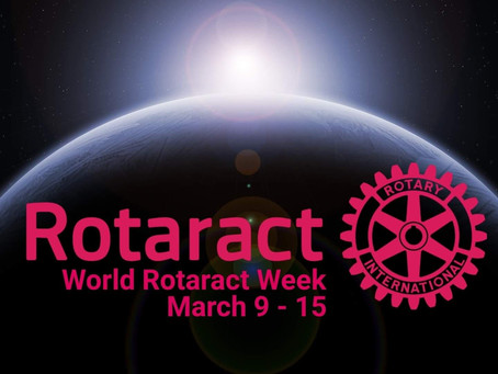 World Rotaract Week March 2020