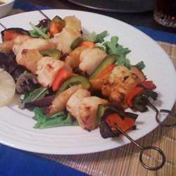 Scallop and Shrimp Kabobs