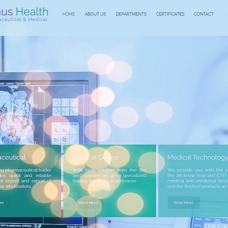 LENUS HEALTH Has updated its website!