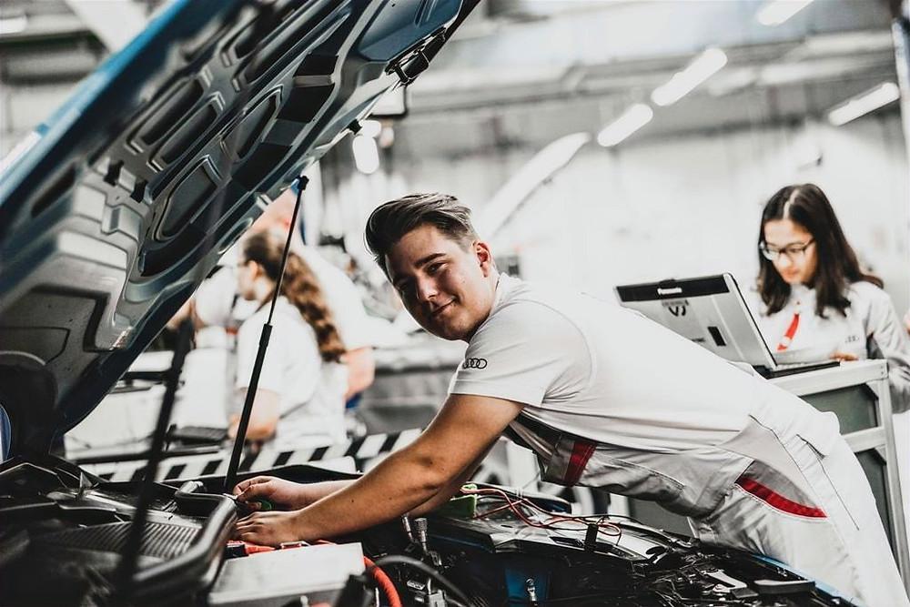 Apprenticeships at Audi