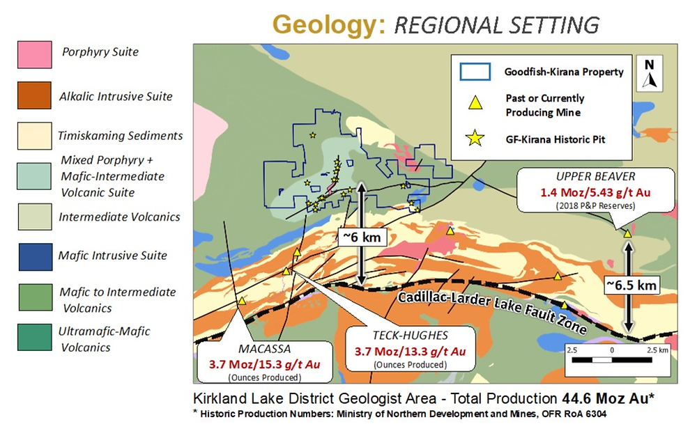 Warrior Gold Regional Geology