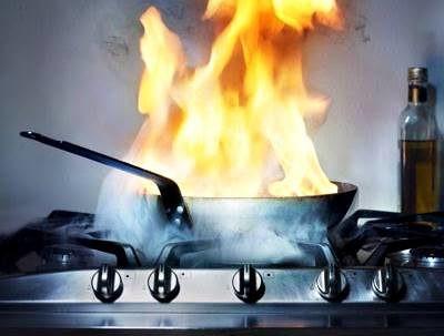 Mencegah Kebakaran Di Dapur