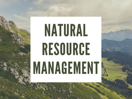 NATURAL RESOURCE MANAGEMENT AND INTERNATIONAL LEGAL PERSPECTIVE