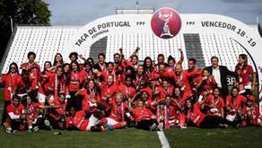 Gloriosas: Benfica é campeão da Taça de Portugal Feminina