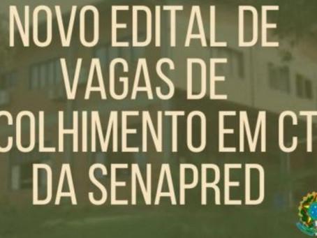 Financiamento de vagas: CTs têm até 16/03 para apresentarem a documentação na Senapred