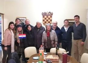 Reunión con el Club de Croatas de Paraguay