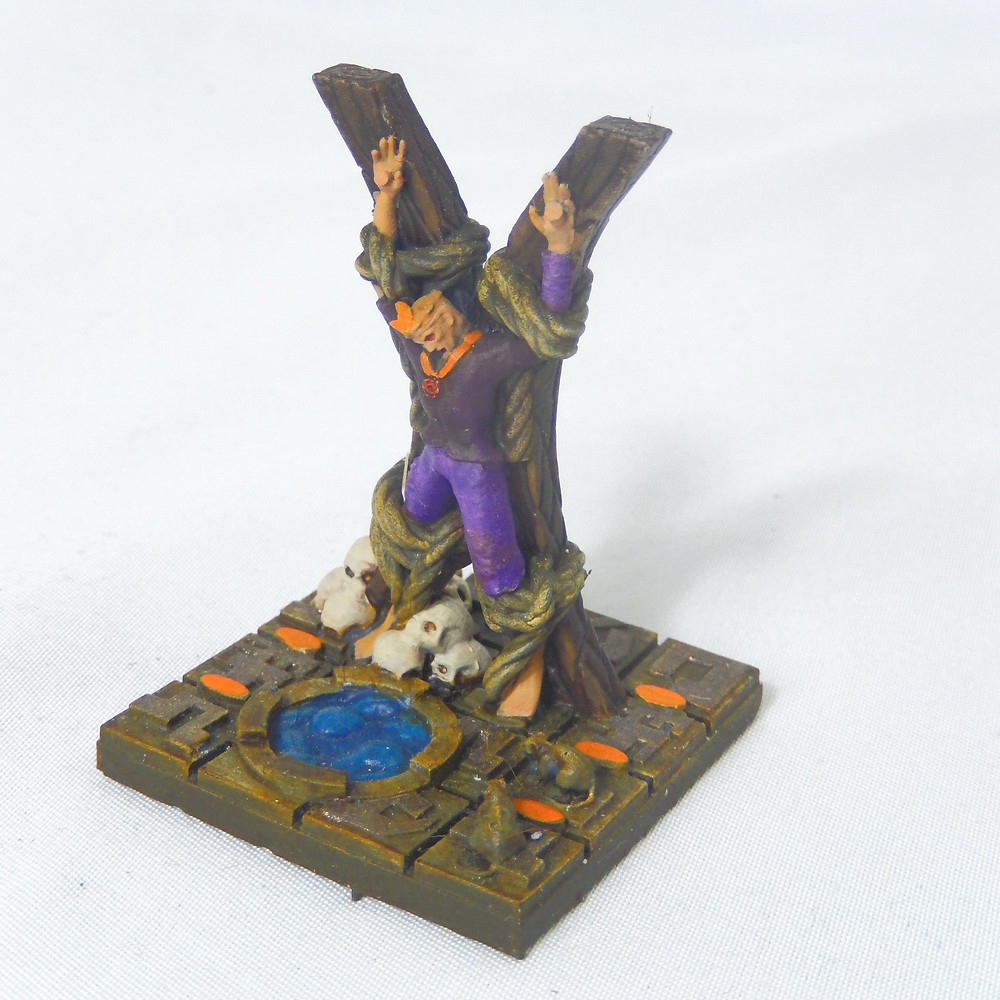 Awaiting execution resin miniature (D&D / tabletop games)