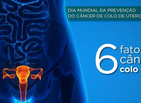 Seis fatos sobre câncer de colo de útero que você precisa saber