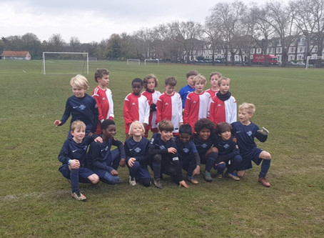 Scorpions Under 9's - Ready to play with a sting!
