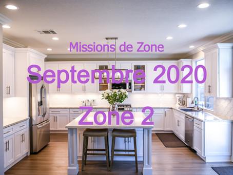 Zones : Missions semaine 37 - Zone 2