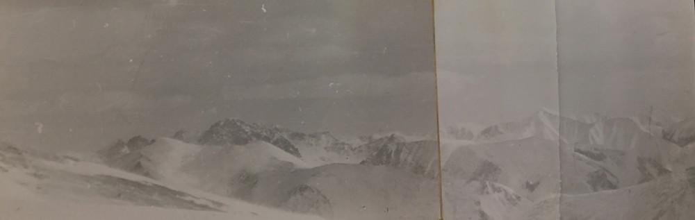 Хребет Дуссе -Алинь с вершины| skitour.club| Блог Сергея Чеботова