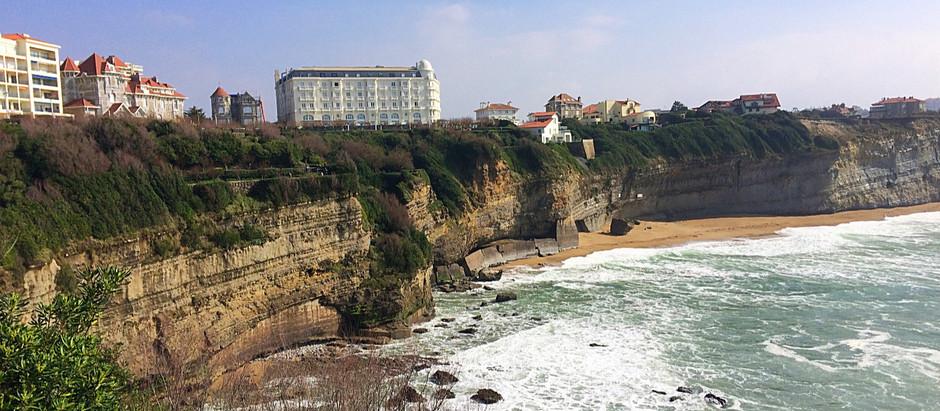 10 lugares a no perderse en Biarritz.