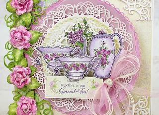 Tea Amongst the Roses