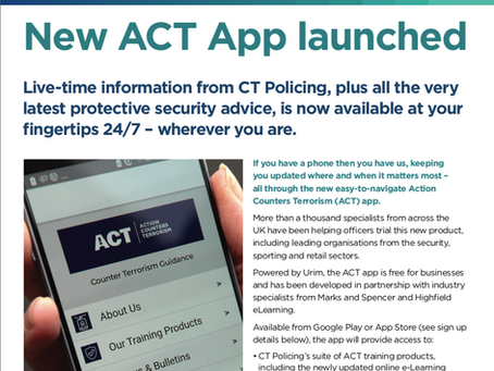 New 'ACT' App launched