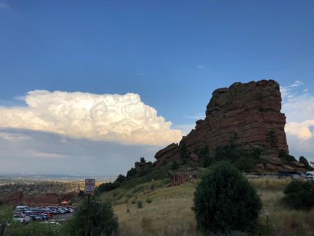 Red Rocks Amphitheater is a magical experience...take in your favorite music and drink a craft beer.