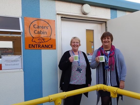 Pop In to the Carer's Cabin at Ipswich Hospital