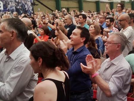 Rubén Romano, fue invitado especialmente  al Foro Mundial de Pensamiento Crítico