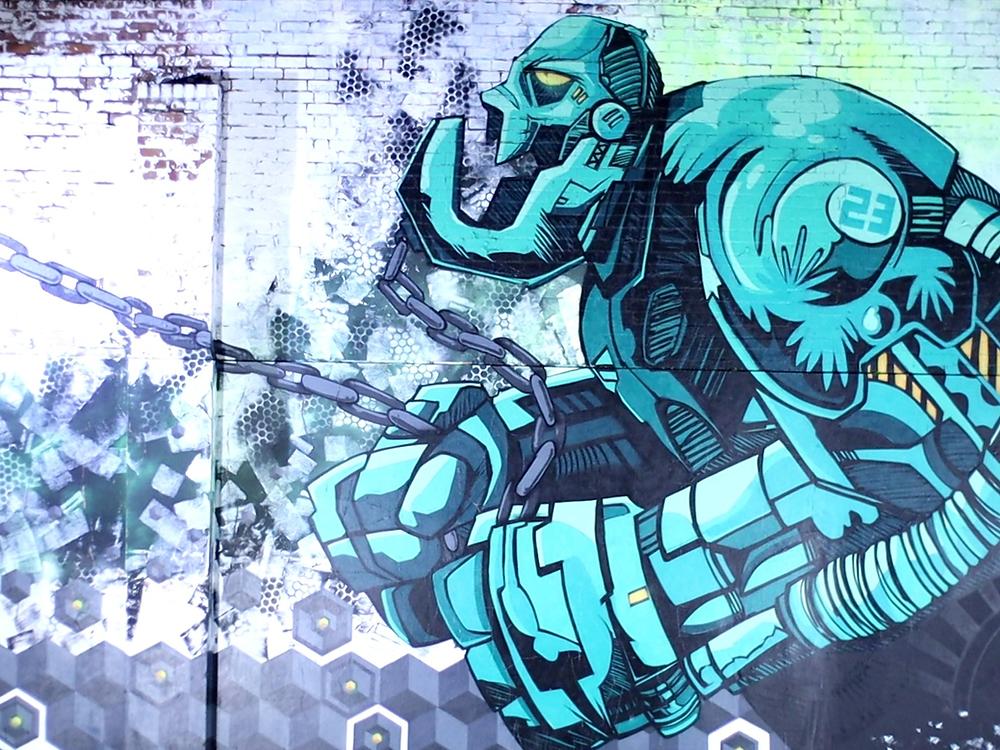 Amazing street art from Digbeth in Birmingham