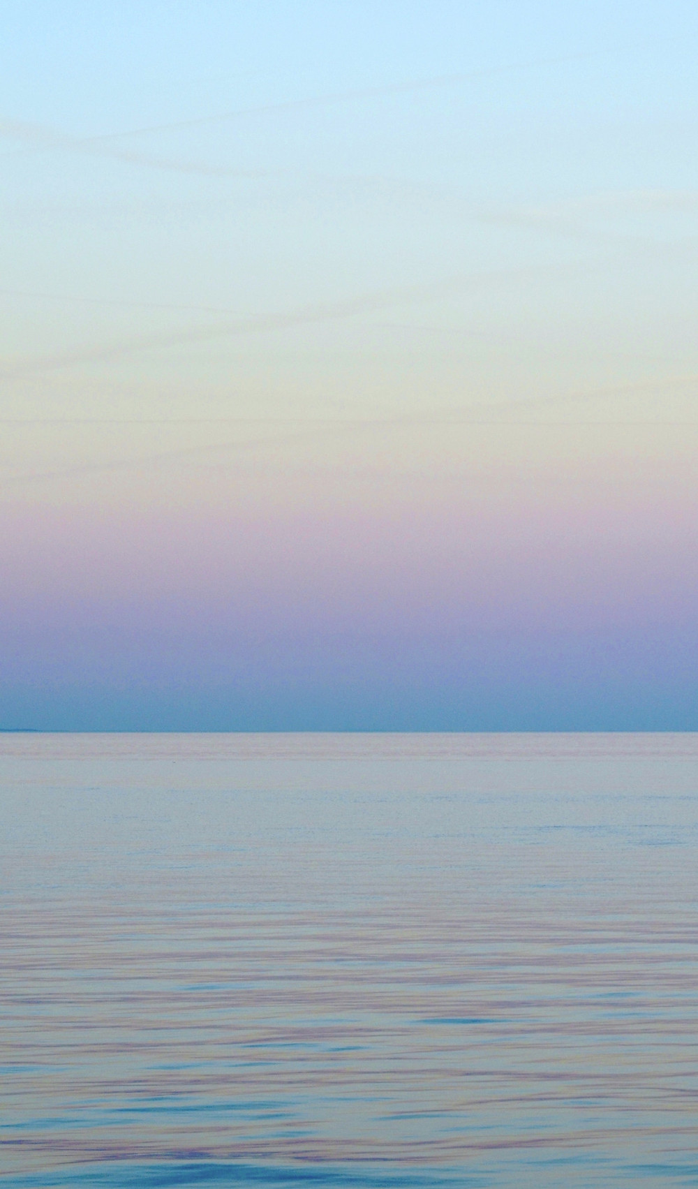 beautiful colors over the ocean