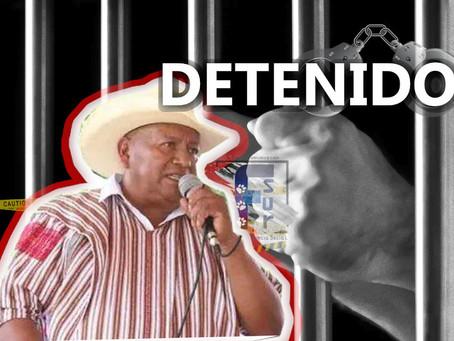 Presidente Municipal de Pantelhó es DETENIDO por HOSTIGAMIENTO SEXUAL